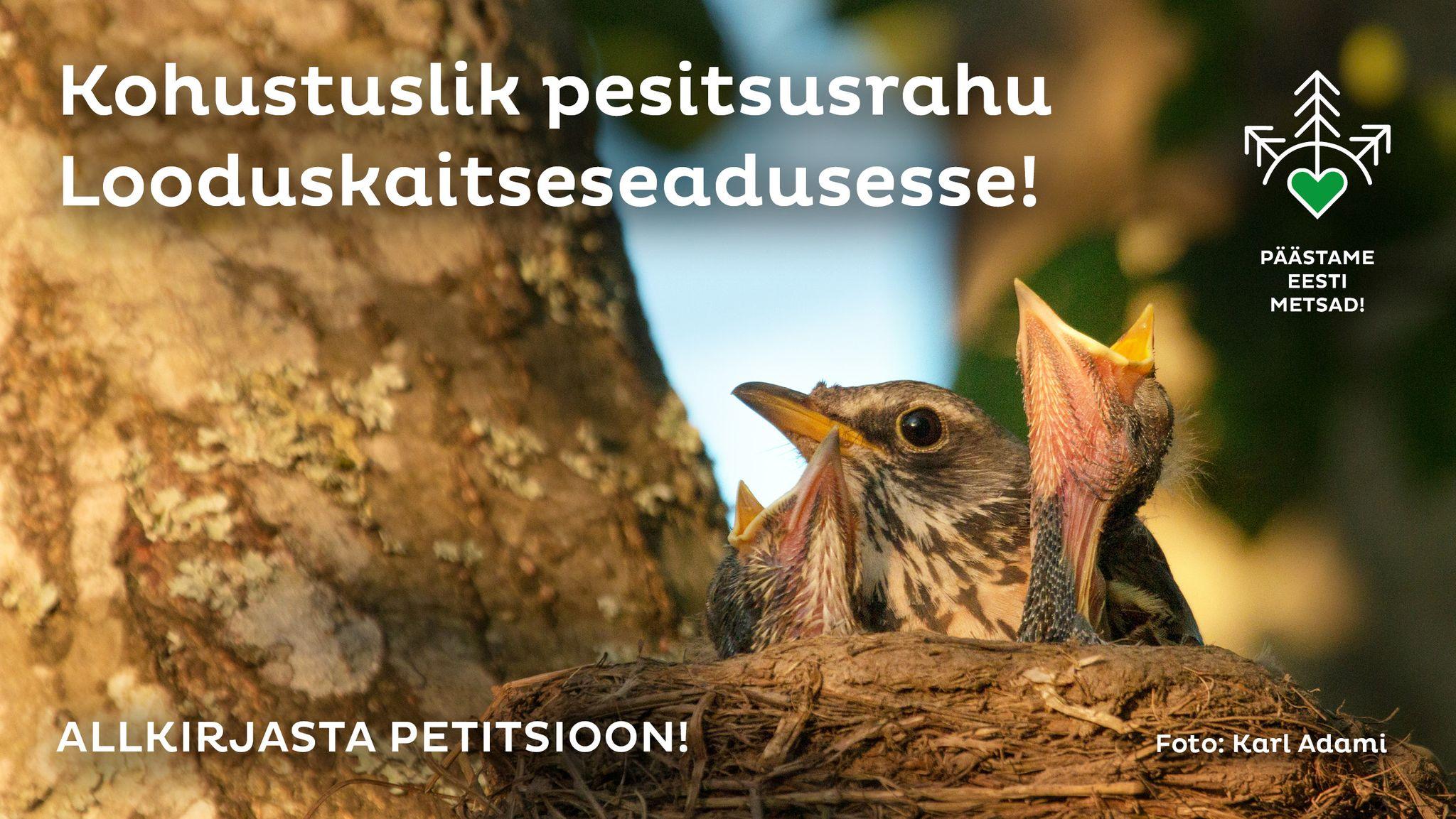 Lõpetame sõja looduse vastu!