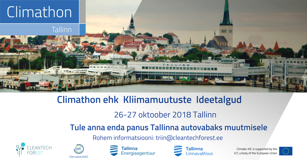 Cleantech ForEst ajurünnak - mida teha autostumise vastu Tallinnas?