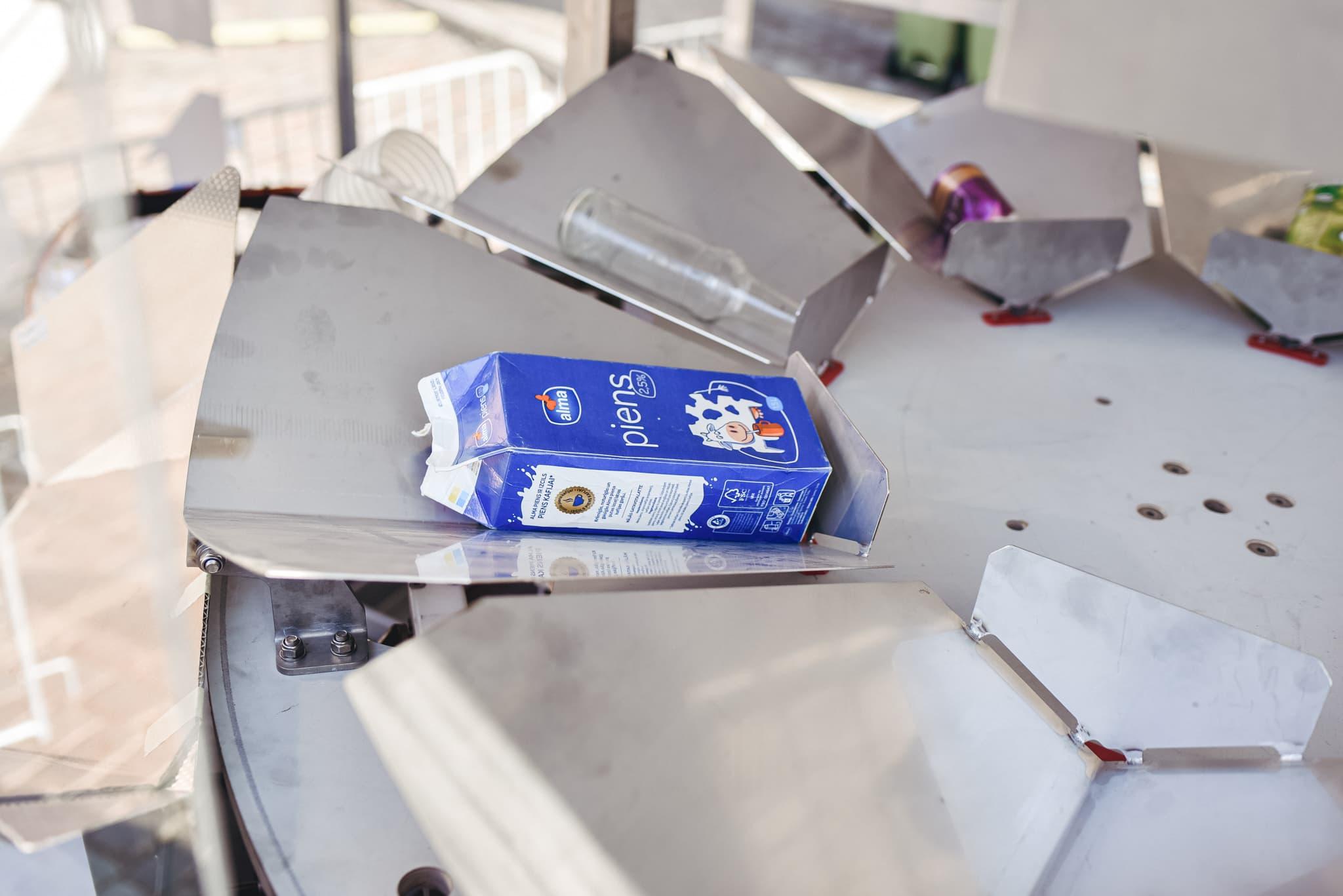 Läti jäätmeautomaat saab aru, mida tema sisse pannakse