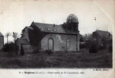 Edmond Modeste Lescarbaultobservatoorium. (L. Martin, Public Domain, commons.wikimedia.org/w/index.php?curid=10911311)