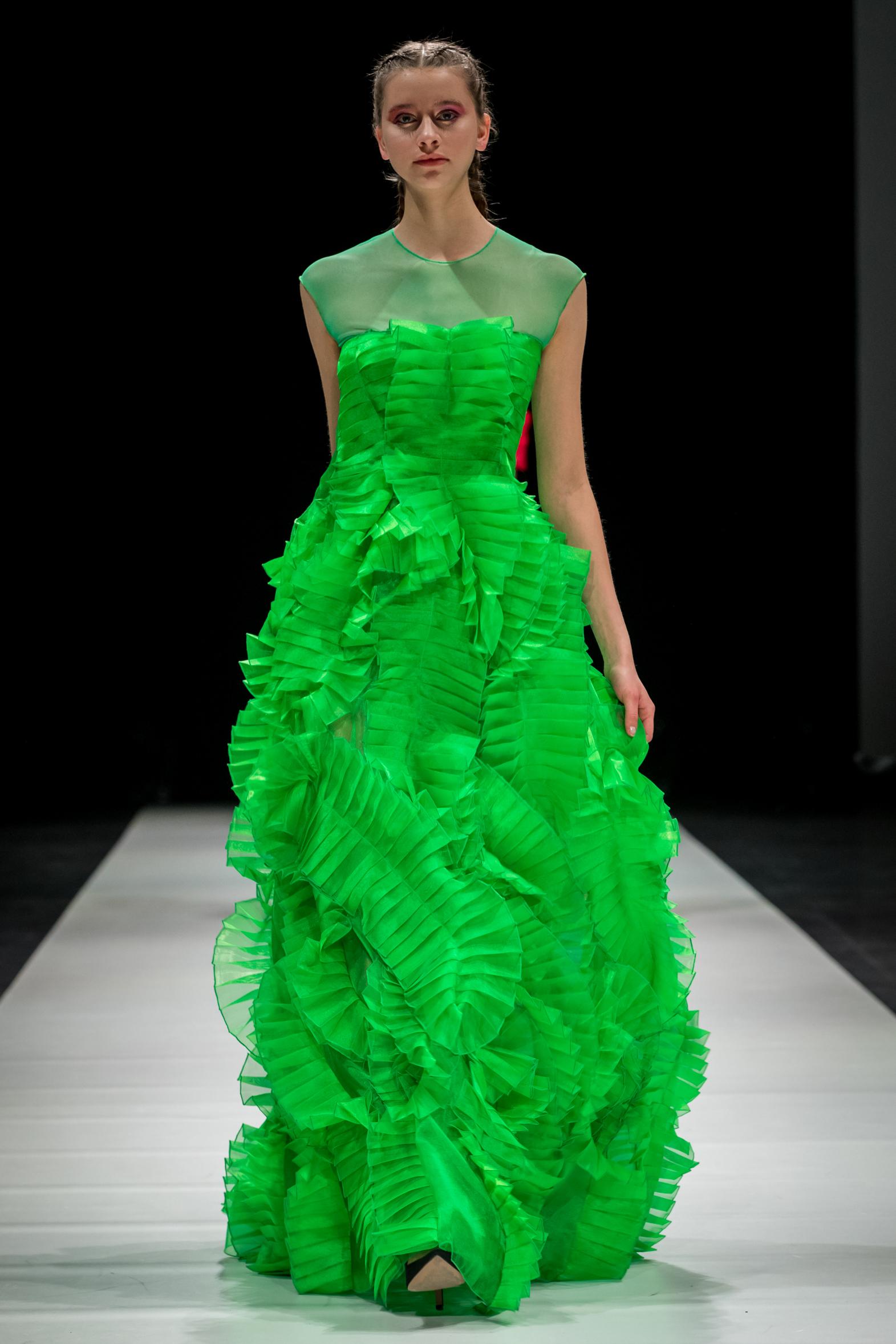 Ketlin Bachmanni disainitud kleit