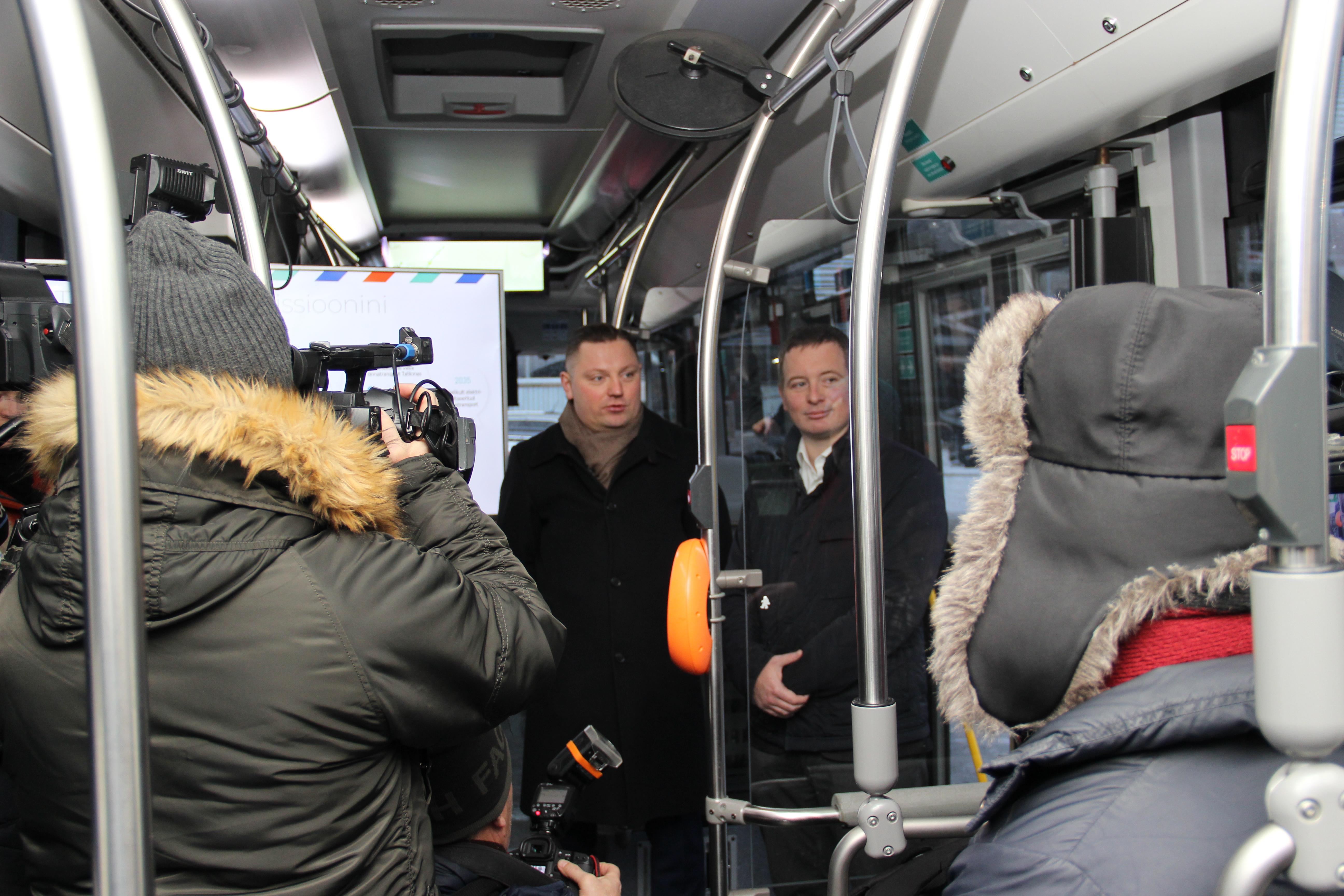 Eesti Energia ja Tallinna Linnatranspordi AS sõlmisid elektritranspordi koostöölepingu