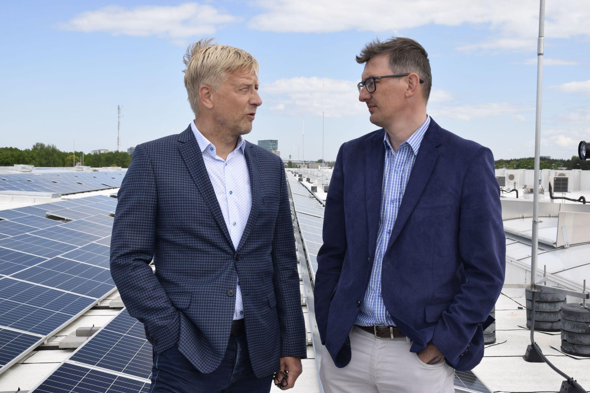 Kaamos avas Tallinna suurima päikesepargi