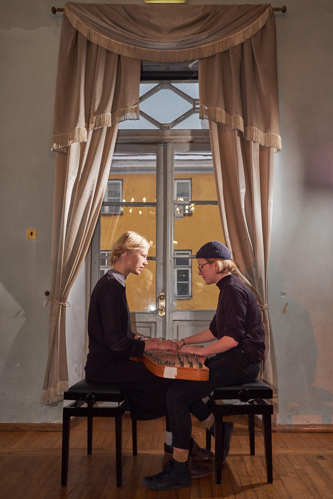 Duo Ruut: Ann-Lisett Rebane ja Katariina Kivi.