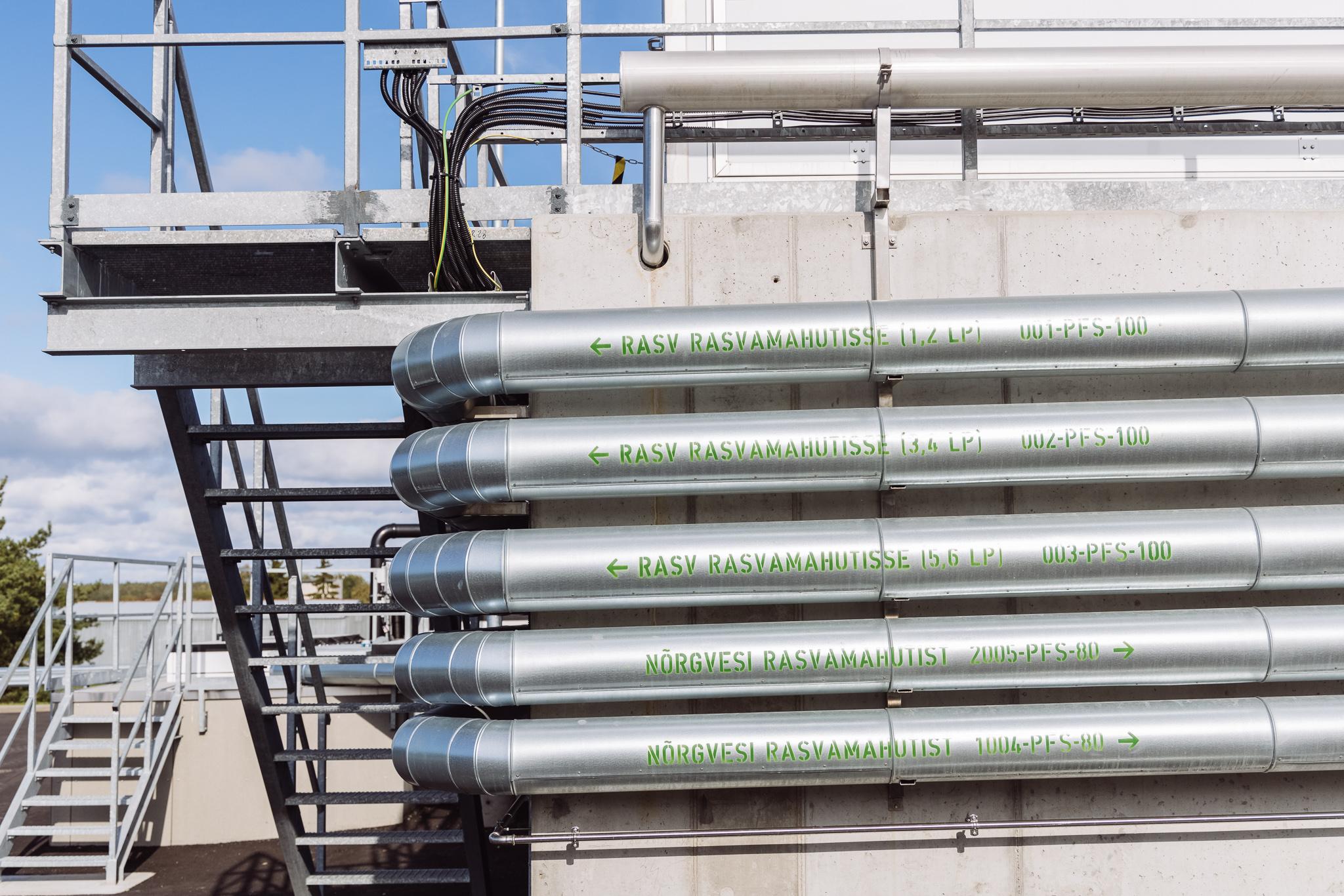 Paljassaare reoveepuhastusjaamas avati uus mehaaniline puhastusetapp