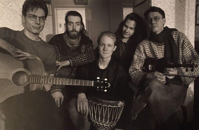 Jyrki Koivisto ja Dave Murphy 1994. aastal Helsinkis