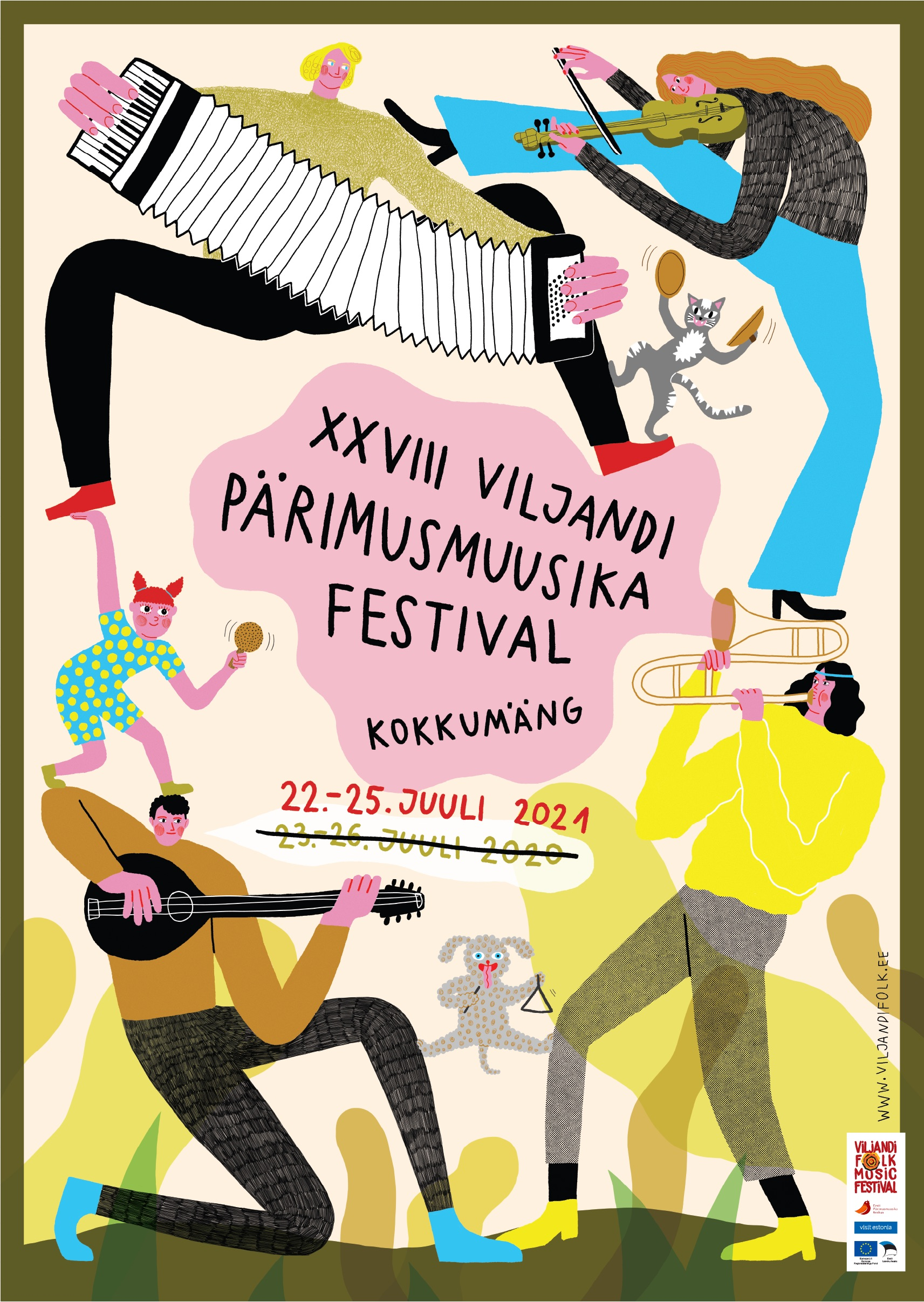 Viljandi pärimusmuusika festivali asemel toimub kaks pärimusmuusika kontserdipäeva