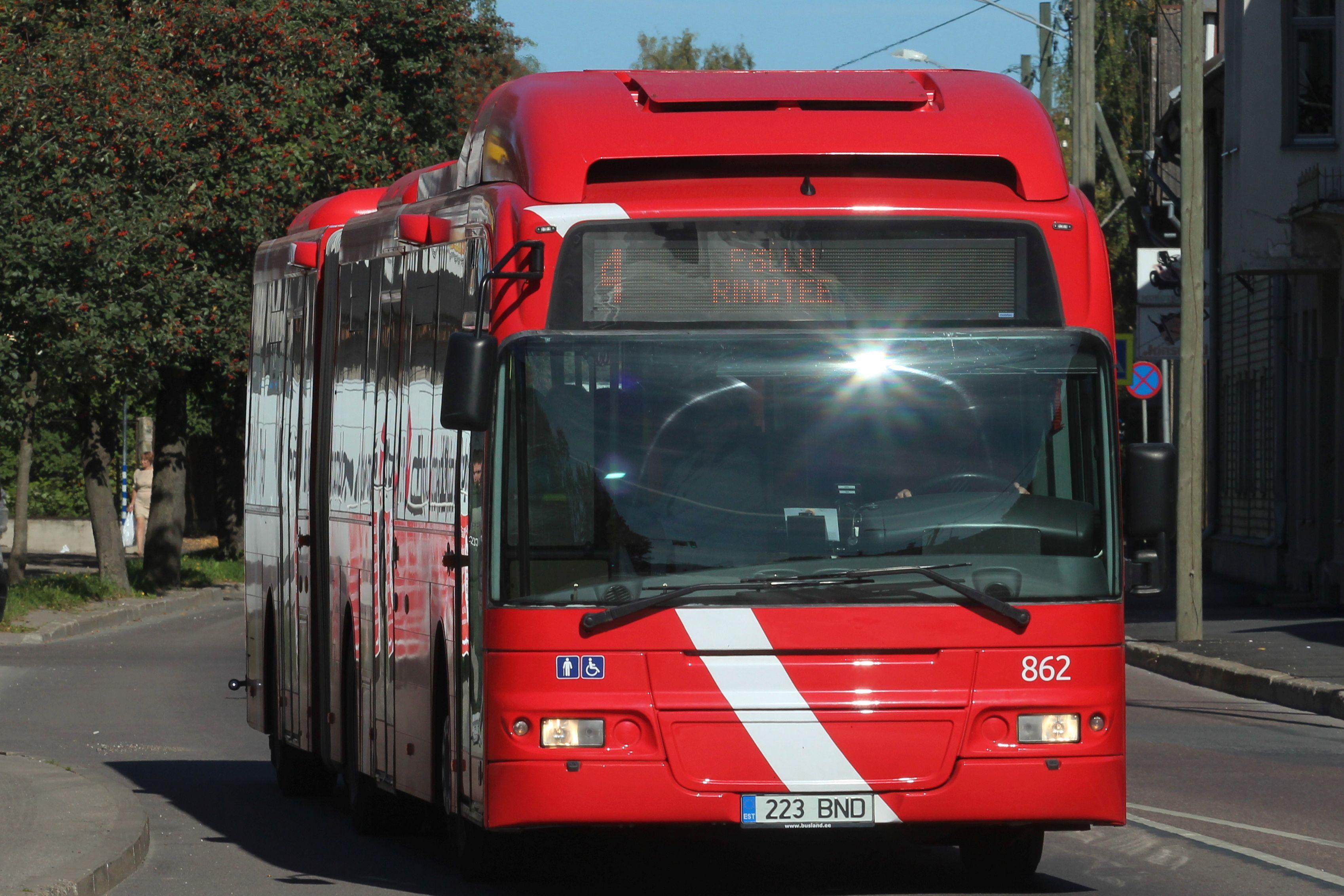 Ühistransport Tartus. Foto: Tartu.ee