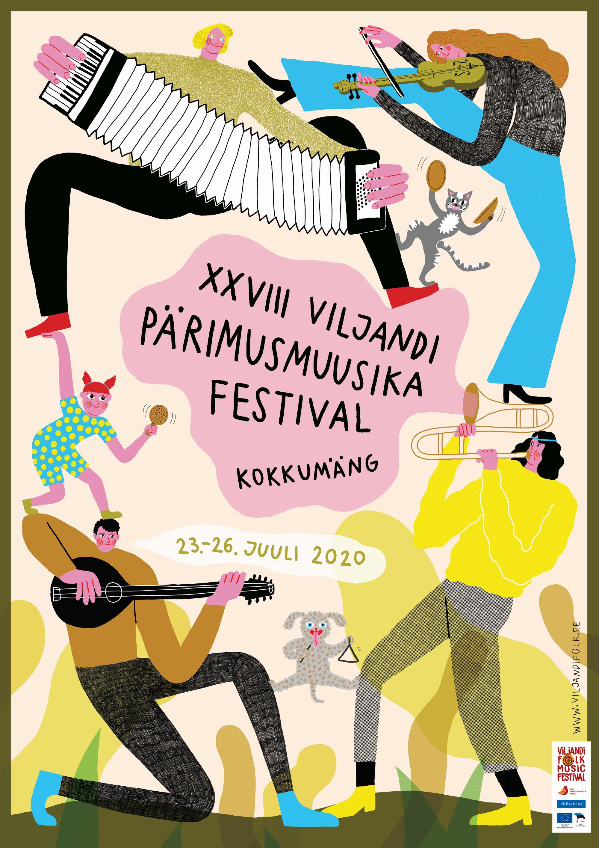 Viljandi pärimusmuusika festival avalikustas täna tunnuskujunduse