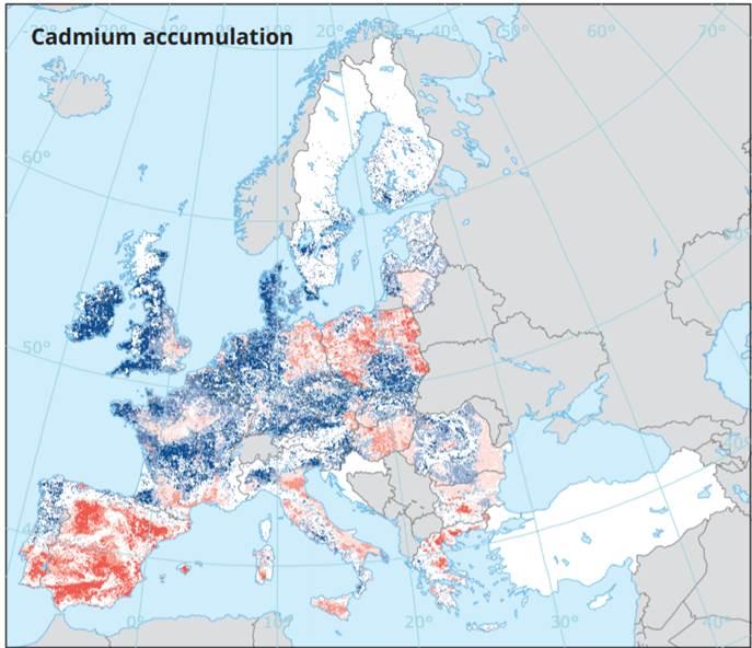 """Kaart: De Vries jt, """"Euroopa keskkond: seisund ja väljavaated 2020. aastal"""""""