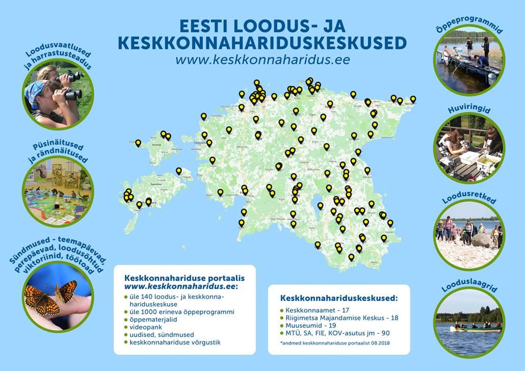 Eesti looduskeskused kutsuvad märkama looduse ja tervise seoseid
