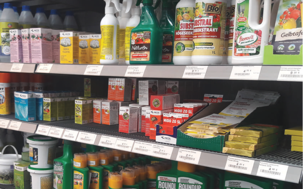Kuidas maandada taimekaitsevahendite kasutamisega seotud terviseriske?